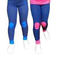 100% Merino wool thermal kids long underwear pants Soft Non itchy leggings unisex boys girls