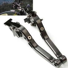 Motorcycle Adjustable Extendable Levers handle folding handbrake Brake Clutch Levers For TRIUMRH SCAMBLER 1200 XC 2019 2020