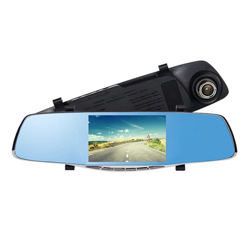 5 0 Full HD 1080P Auto Car DVR Rearview Mirrors Camera Video Recorder Dash Cam Card