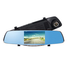 5 0 Full HD 1080P Auto Car DVR Rearview Mirrors Camera Video Recorder Dash Cam Card