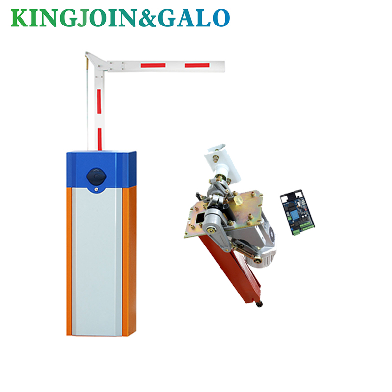 GALO Barrier Gate Opener System, 90 Degree Folding Boom Barrier Gate For Parking System