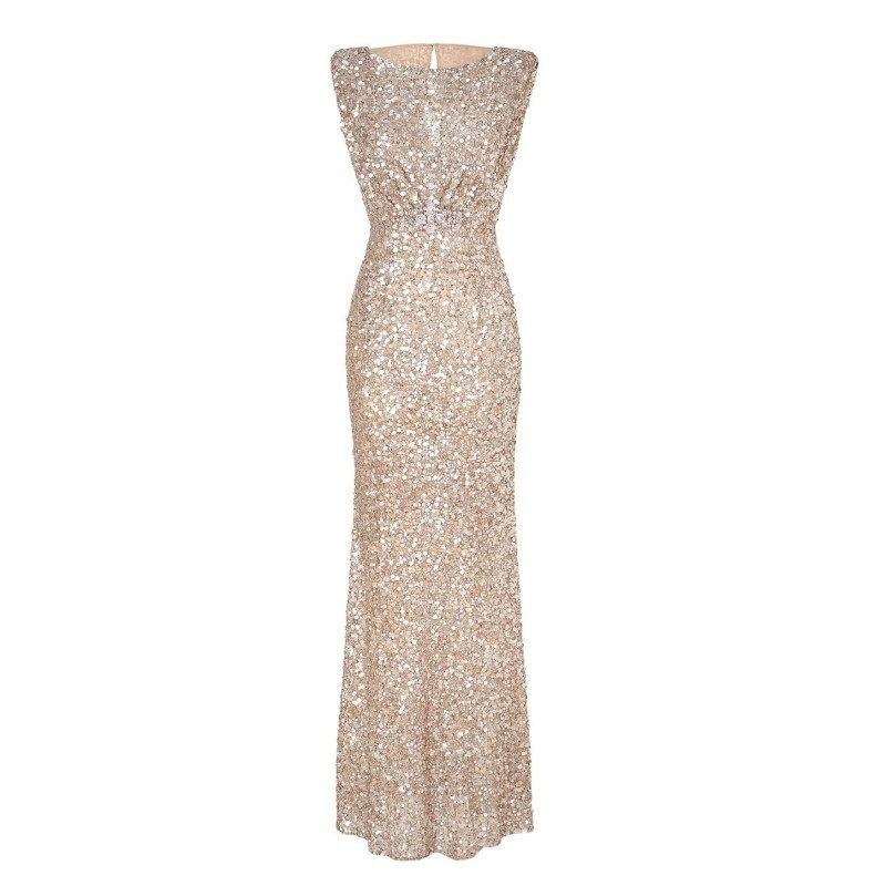 Luxury Sequin Robes Abendkleider Crystal Evening Dresses Great Gatsby Dress 2015 Glitter Vestidos Rhinestone Evening Gown Women