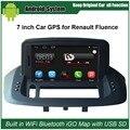 Actualizado Original Juego de Coches Reproductor de Radio para Renault Fluence Coche Reproductor de Vídeo Construido en WiFi Gps Bluetooth
