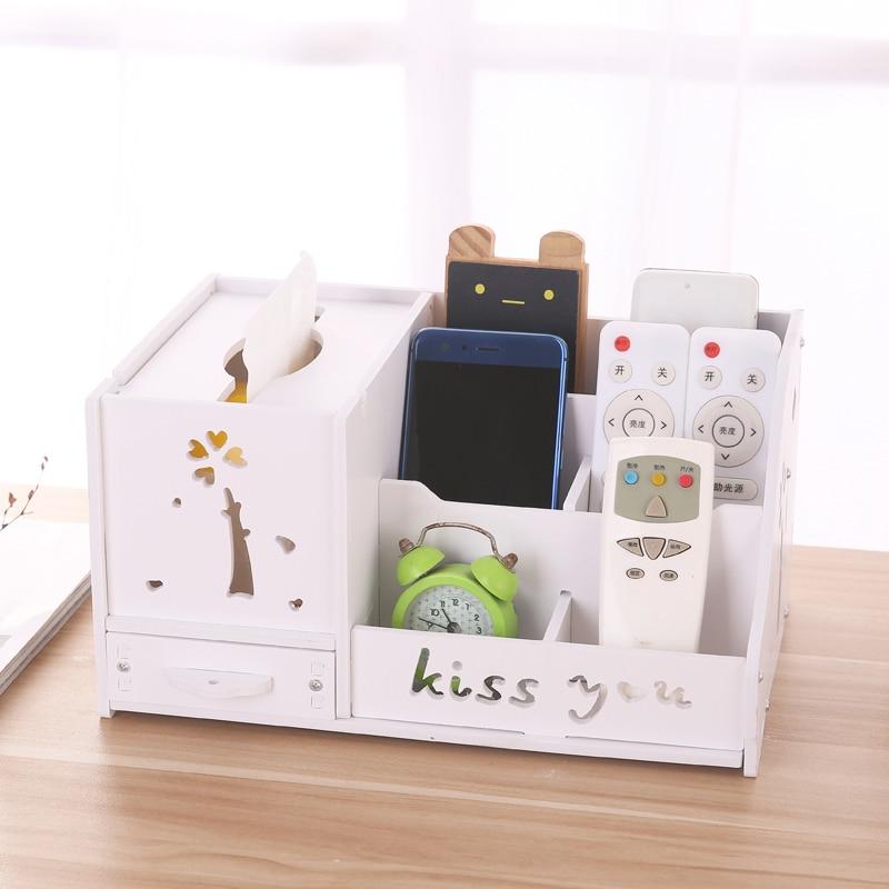 Горячая Распродажа деревянная доска коробка для хранения косметики Настольный комод губная помада ящик для хранения ювелирных изделий Кор