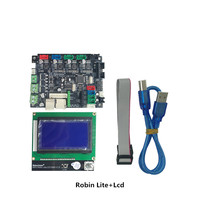 3D printer control board motherboard Robin Lite 32 bit ARM with 12864 display screens