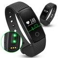 Hot ID107 Inteligente Banda de Fitness Monitor De Freqüência Cardíaca Pulseira Smartband Flex pulseira para ios android4.4 pk xiomi mi banda 2 i5 mais