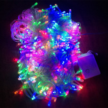 10M/20M/30M/50M/100M led Christmas Lights Led String Fairy Light More Modes For Wedding Party Holiday