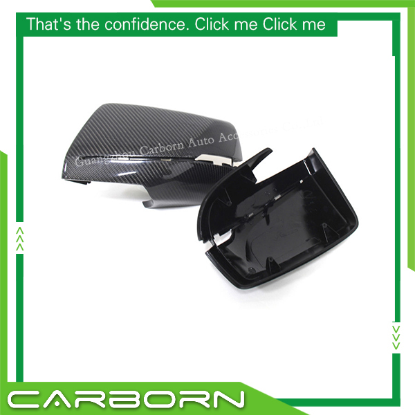 Carbon Fiber Mirror Cover For Cadillac XTS 2014 2015 2016 Gloss Black 1 1 Replacement Style in Mirror Covers from Automobiles Motorcycles