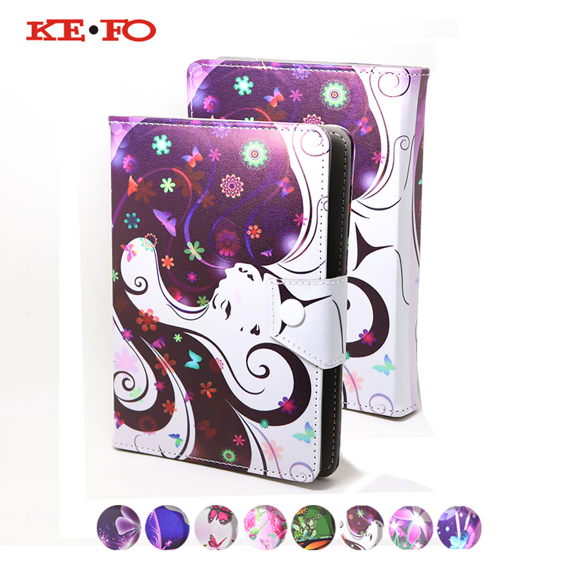 KeFo For Samsung Galaxy Tab E 7.0 T113 T116 Case Tab 3 7.0 Lite T110 T111 tablet 7 inch Cases Universal Leather Protective Cover protective clear screen protector for samsung galaxy tab 3 lite t110 transparent 5 pcs