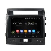 9 дюймов Android 5.1 dvd плеер автомобиля GPS навигации Системы media стерео аудио видео для TOYOTA LAND Crusier 2012 2013 2014 2015