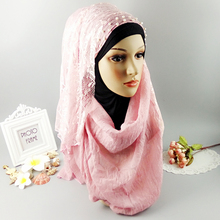 H12  white new  half ace hijab,shawl ,scarf,viscose shawl ,thicker material ,180*90cm ,can choose colors
