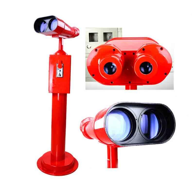 25X100 coin operated binoculars giant telescopecoin-operated binoculars 100mm travel viewing telescope QC-02 цена и фото