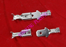 цена на 200pcs/lot crimp terminal 4.8  100pcs Female+100pcs male connector