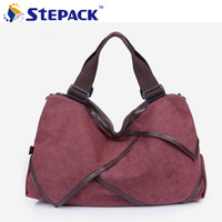 2015 New Women Bag Women Canvas Messenger Bag Canvas High Quality Fashion Style WBG065