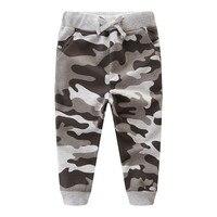 Штаны для маленьких мальчиков Осенняя хлопковая одежда для маленьких мальчиков камуфляж TrousersHarem Штаны брюки с рисунками Детский свитер Шта...