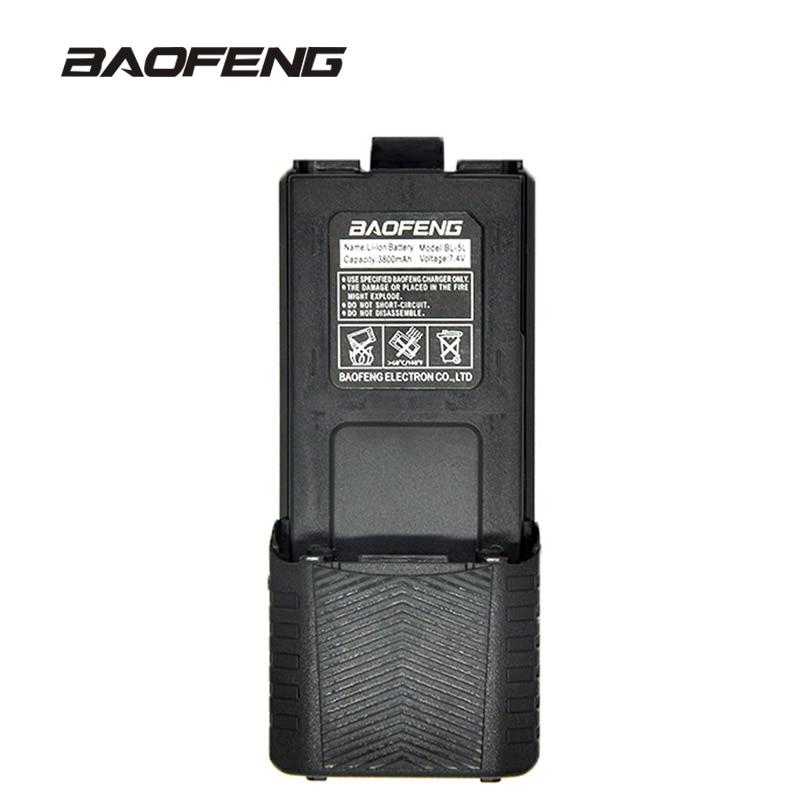 Baofeng Haute Capacité talkie walkie batterie 3800 mAh pour deux-way radio UV-5R UV-5RE UV5RE batterie boîte Baofeng Accessoires