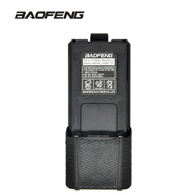 Baofeng קיבולת גבוהה ווקי טוקי סוללה 3800mAh עבור דו דרך רדיו UV 5R UV 5RE UV5RE סוללה תיבת Baofeng אבזרים