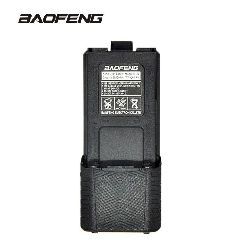 Baofeng Haute Capacité batterie de talkie walkie 3800 mAh pour deux-way radio UV-5R UV-5RE UV5RE boîtier de batterie Baofeng Accessoires