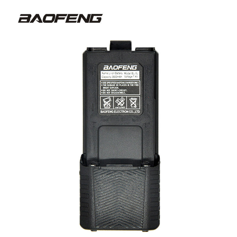 Baofeng High Capacity walkie talkie battery 3800mAh for two-way radio UV-5R UV-5RE UV5RE battery box Baofeng Accessories