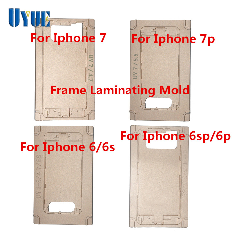 Hot Sale Frame Laminating Mold for iPhone6/6S/6Plus/6S Plus/7/7 Plus on Frame Laminating Machine laminating machine for iphone 4 4s 5 middle bezel frame pressing frame machine