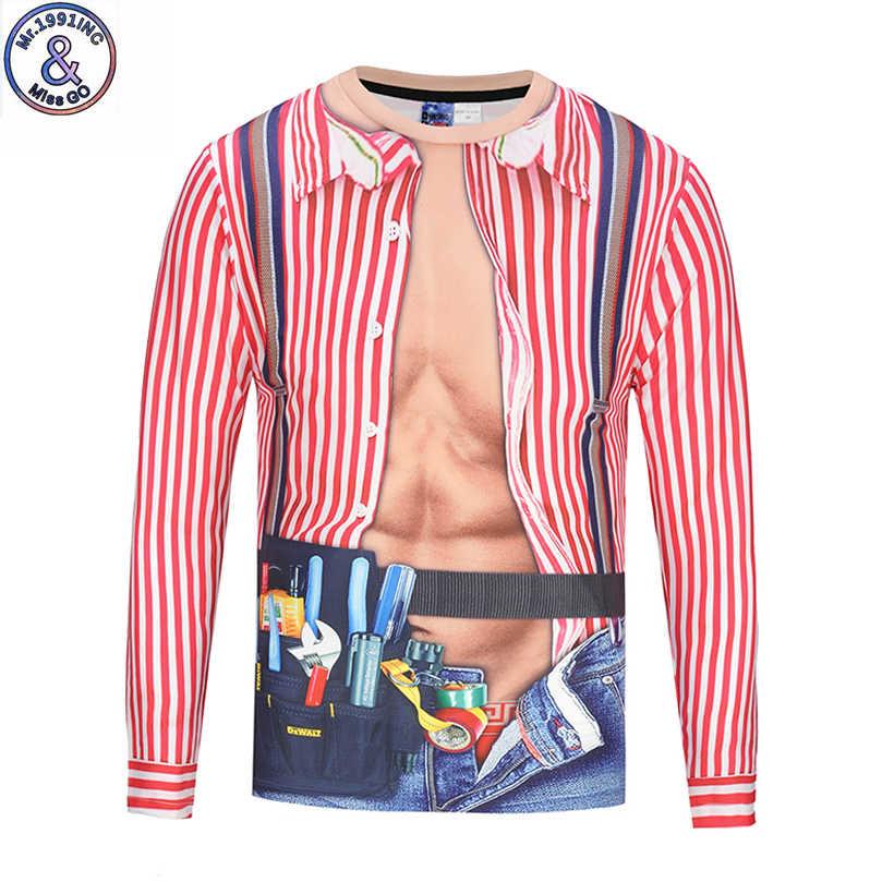 Mr.1991 جديد وصول أزياء الاطفال بارد كبير طويل كم t-shirt مضحك 3d مطبوعة الصبي تي شيرت الأطفال القمم CT7
