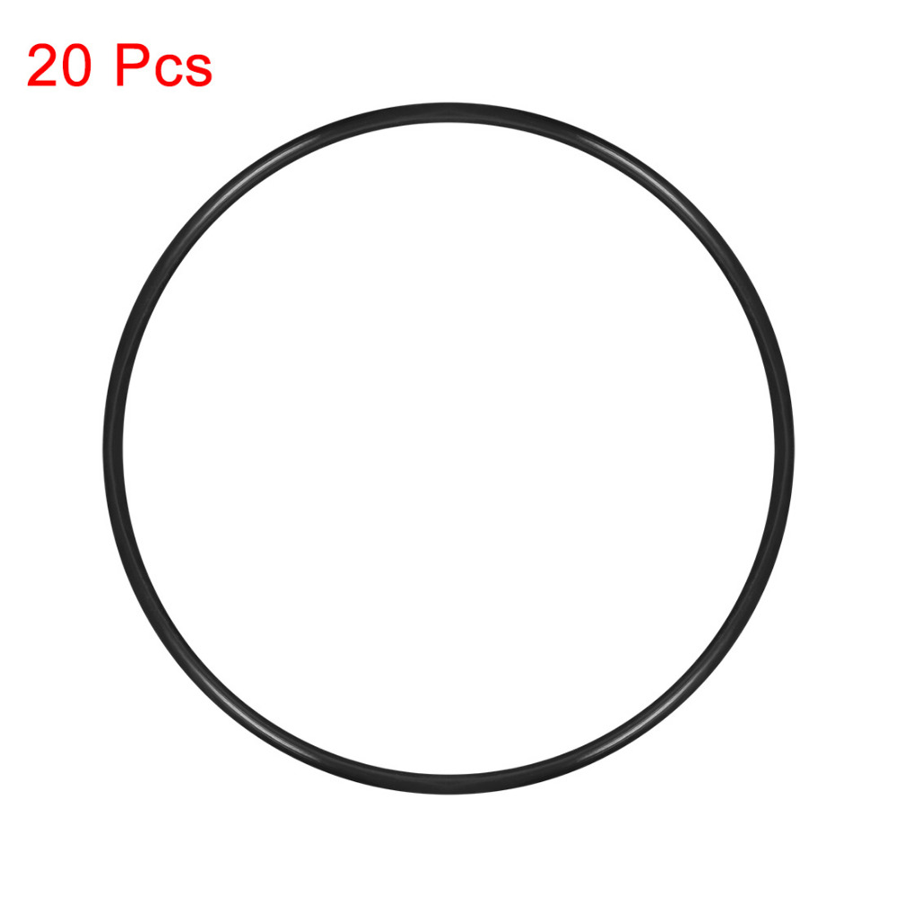 Gasket outside diameter 42mm thickness 5mm select inside dia, material, pack