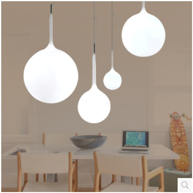 Modern Milk Globe Gl Shade Pendant Lights For Dining Room Bar Restaurant Decorative Kugellampe Hanging