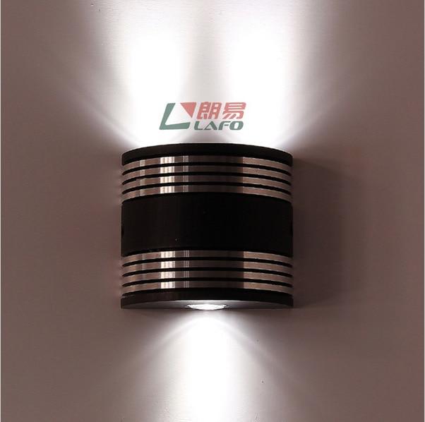 Новое поступление роман светодиодные настенные светильники мода лампы современные краткие спальня лампа энергосберегающие лампы настенные 220 В 3 * 1 Вт бесплатная доставка