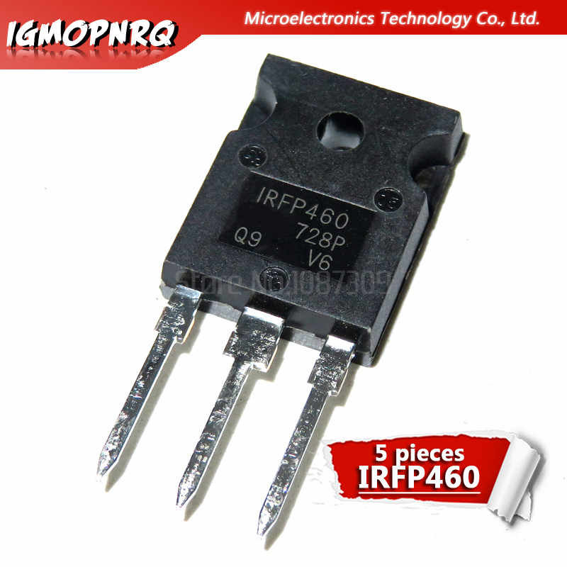 5pcs IRFP460N TO-247 IRFP460NPBF IRFP460 TO247 IRFP460A New And Original IC