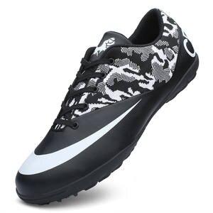 b8e0058ca ZHENZU Professional Men Football Boots Kids Superfly futsal chaussure de  foot