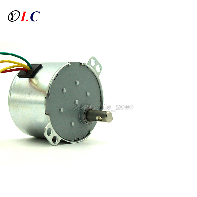 50KTYZ Metal Shell 5RPM AC 220V 8W Permanent Magnet Synchronous Micro Gear Motor Positive & Negative Controlled low-speed все цены