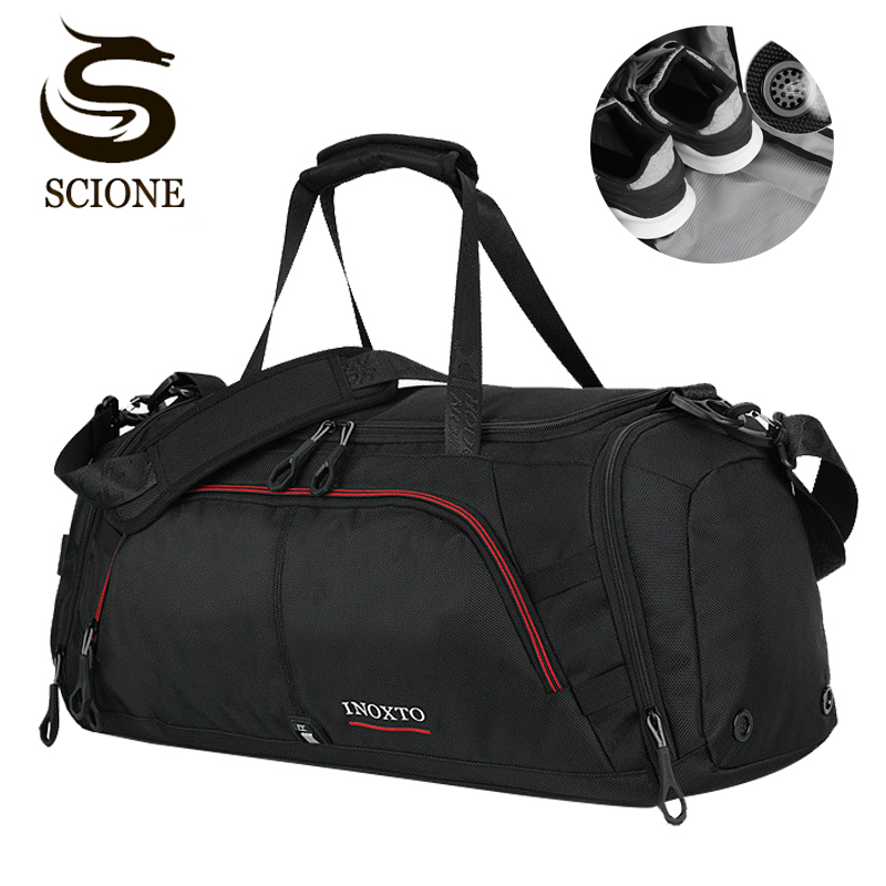 Top Men Travel Handbag Large Capacity Women Luggage Travel Duffle Bags Male Trip Shoulder Travel Bag Organizer With Shoes Pocket