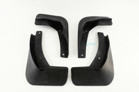 Black Fender Mud Flaps Splash Guard High Quality Fit VW Golf 7 MK7 MKVII Hatchback 2014