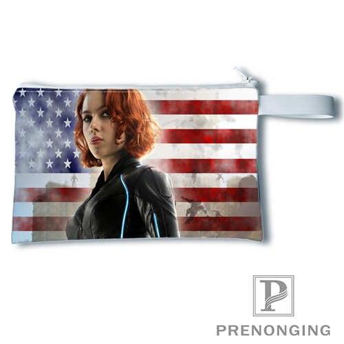 Custom Black widow Printing Coin Purse Change Purse Zipper Zero Wallet Phone Key Bags Fashion Small Female Purse#19-01-22-3-139