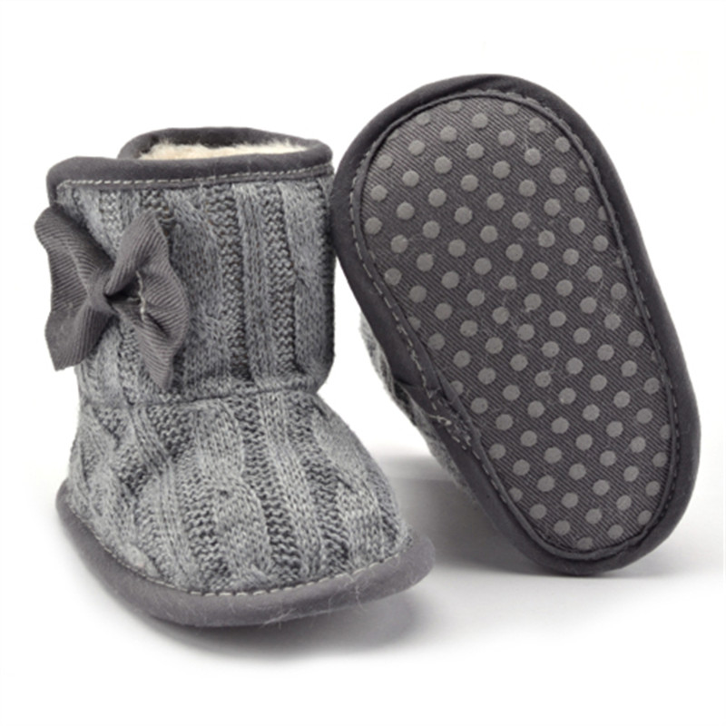2017-New-Baby-Girl-Knit-Bowknot-Faux-Fleece-Snow-Boot-Soft-Sole-Kids-Wool-Baby-Shoes-First-Walkers-Size-111213cm-Infant-boots-4