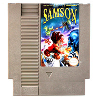 Little Samson 72 Pins Game Card For 8 Bit Game Player English Language