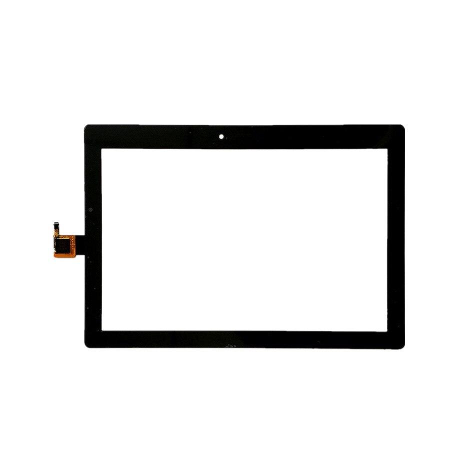 Para Lenovo Tab 2 A10-30 YT3-X30 X30F TB2-X30F TB2-X30L digitalizador de pantalla táctil de vidrio de Panel de Sensor con herramientas libres