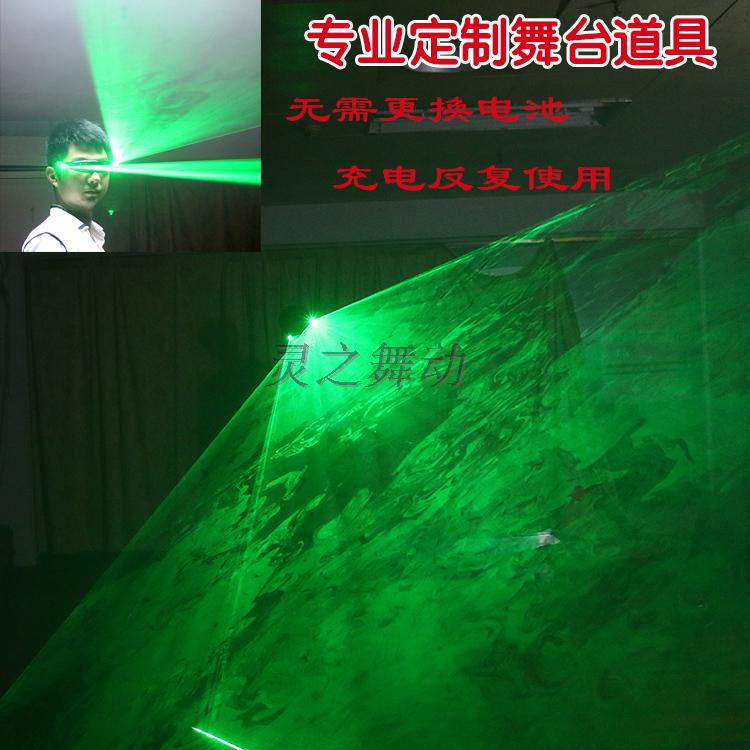 Free Shipping LED Laser Glasses Green Red Light Plane Projective - Festive and Party Supplies