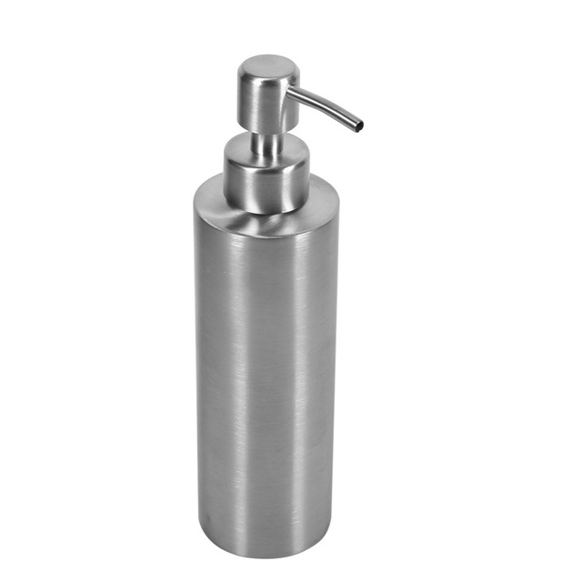 New 350ml Stainless Steel Soap Dispenser Kitchen Sink Faucet ...
