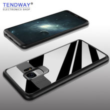 Tendway Soft Silicone Case for Samsung Galaxy S9 S9 Plus Case Transparent PC Back Phone Cover for Samsung Galaxy S9 Protector(China)