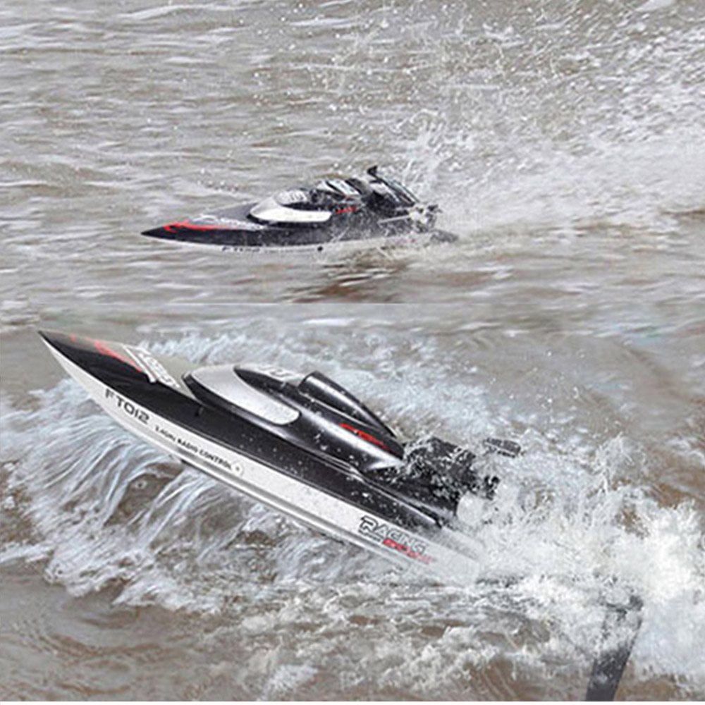 FeiLun FT012 High Speed RC Racing Boat Brushless Fast Self Righting RC Boat 45km/h VS FT011 FT010 FT009 Remote Control Boat Mode hot sale new ft012 upgraded ft009 2 4g brushless rc remote control racing boat toy