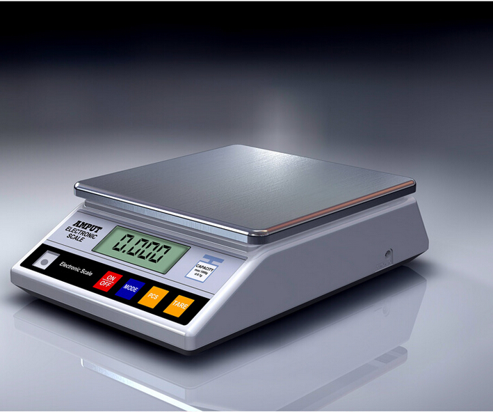 7.5kg x 0.1g Digital Precision Electronic Laboratory Balance Industrial Weighing Scale Balance w/ Counting 800g electronic balance measuring scale with different units counting balance and weight balance