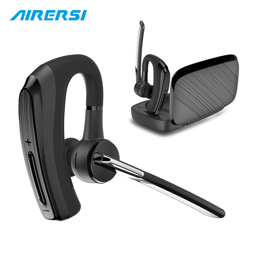 BH820 Bluetooth Earphone stereo Handsfree Wireless Headset smart Car call Business Bluetooth Headphone with Power Bank Box купить