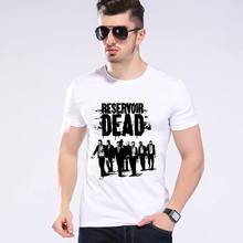 Men The Walking Dead Print T Shirt Men Short Sleeve Good Quality Casual Girl Top Funny