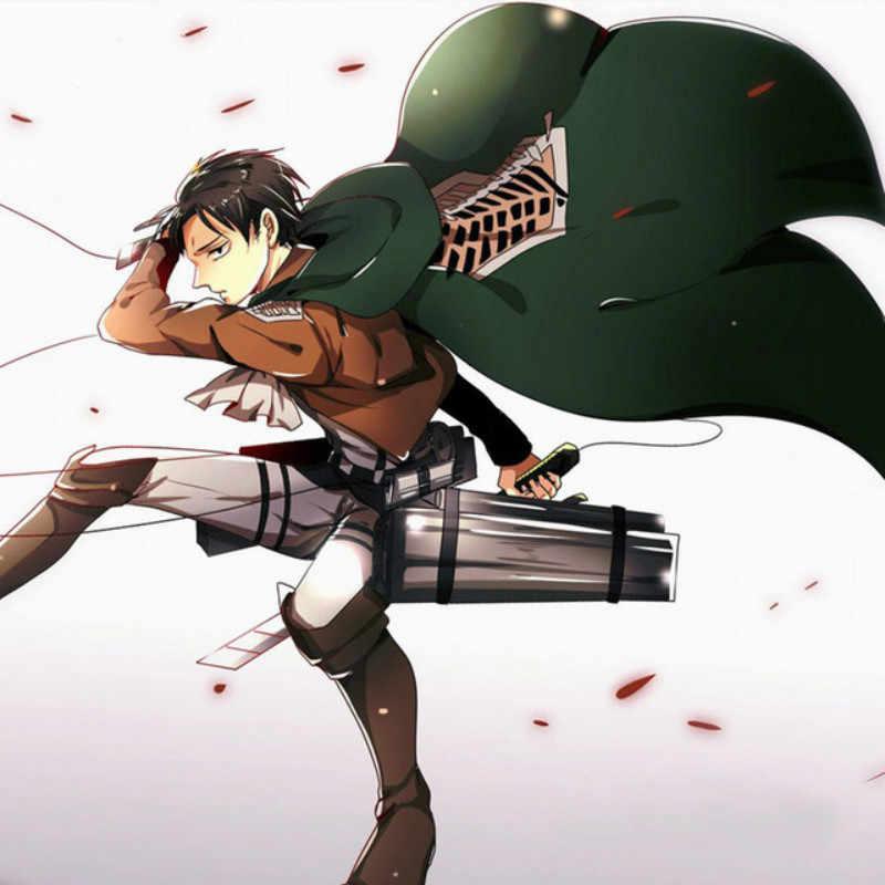 Ataque a Titan Cosplay Shingeki No Kyojin chaqueta cortavientos cinturón traje chaqueta abrigo cualquier tamaño alta calidad