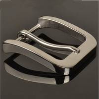 Retail Hot Selling High Quality Solid Stainless Steel Men S Belt Buckles Suitable 4cm Wide Belt