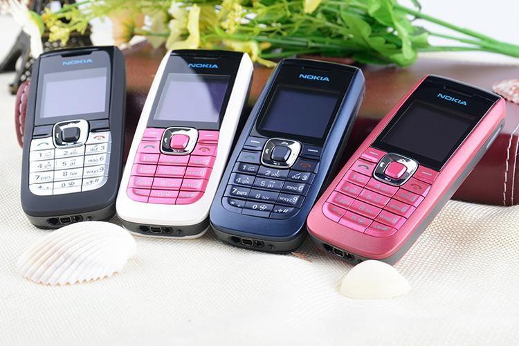 Refurbished Original Unlocked Nokia 2610 the Cheapest multi-language Cellphone white 3