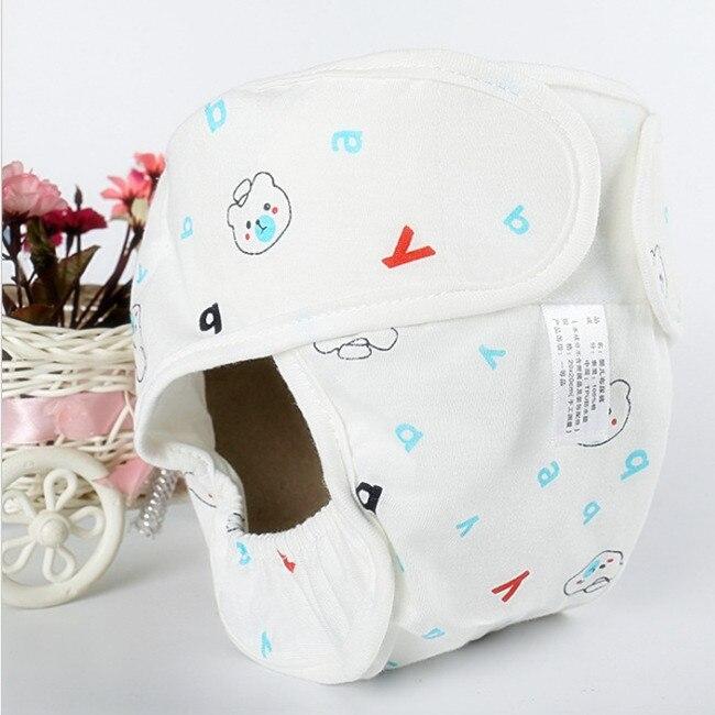 Хлопковые детские подгузники, подгузники, многоразовые стираемые тканевые подгузники, непромокаемые подгузники для новорожденных, трусики для тренировок, подгузники с карманами - Цвет: Blue Bear