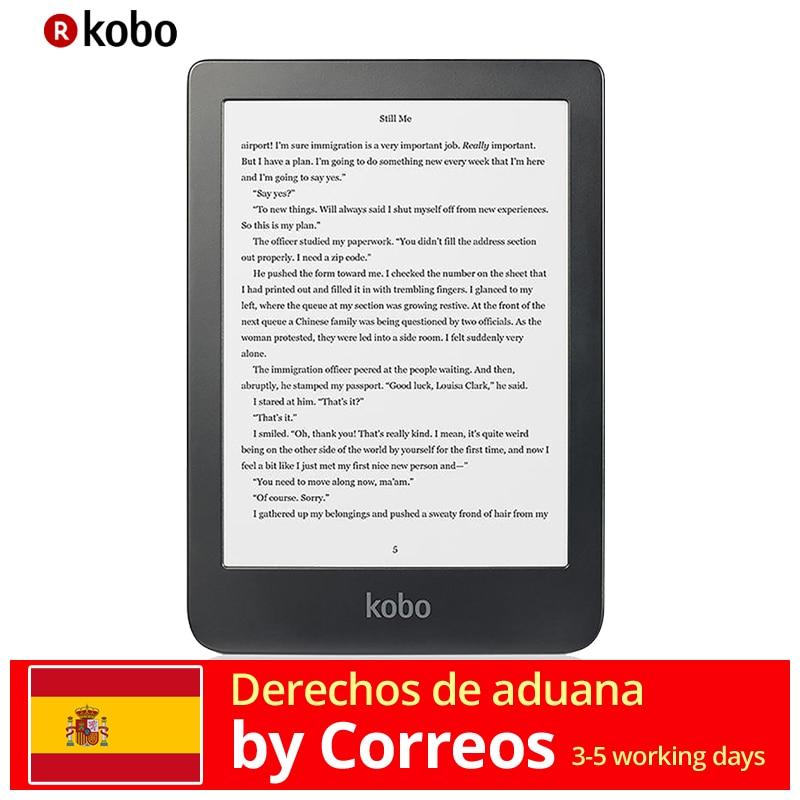 Écran tactile KOBO Clara HD lecteur e-Book Wifi 8 go (Carta d'encre 6 '', CBR, Cbz, ePub DRM, HTML, Mobi, PDF, RTF, TXT, JPEG, BMP, Gi