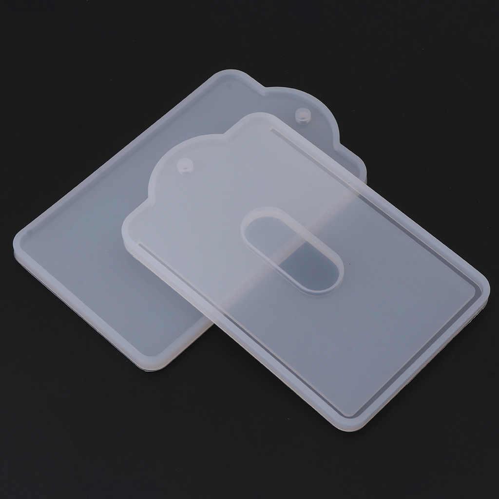 مجموعة من البطاقات قلادة قالب من السيليكون صنع المجوهرات الراتنج الحرفية اليدوية DIY بها بنفسك أداة جديدة هبوط السفينة W2952001